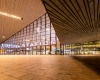Rotterdam Centraal Station by night